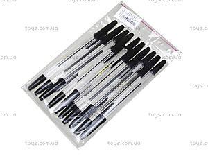 Шариковая ручка черная, 10 штук, 74005-NV, отзывы