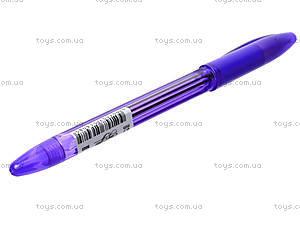 Ручка масляная Easy Office, фиолетовая, 5022, фото