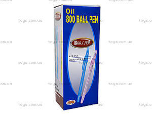 Ручка масляная J. Otten, красная, 800