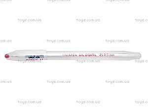 Ручка масляная UnixPen, красная, кансакт, купить