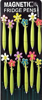 Ручка с магнитом «Цветочки», 21539, купить