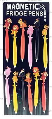 Ручка с магнитом «Животные», 21546, купить