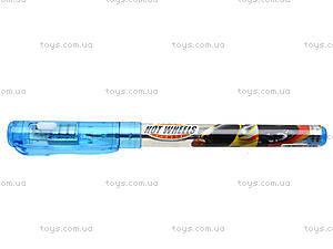 Ручка с фонариком Hot Wheels, HW14-035K, отзывы