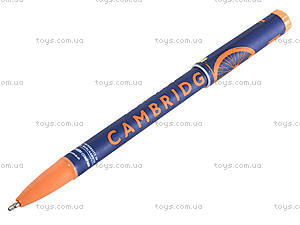 Ручка масляная «Кембридж», синяя, 411534, фото