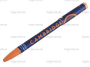 Ручка масляная «Кембридж», синяя, 411534, отзывы