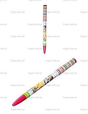 Ручка шариковая «Кошечки», синяя, 411506