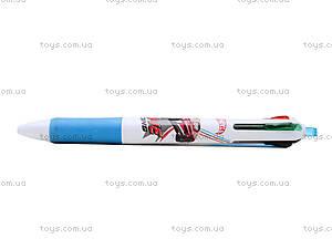 Ручка шариковая  Hot Wheels 4 цвета, HW14-067K, купить
