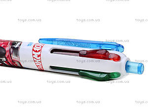 Ручка шариковая  Hot Wheels 4 цвета, HW14-067K, фото