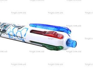 Ручка шариковая Max Steel 4 цвета, MX14-067K, купить