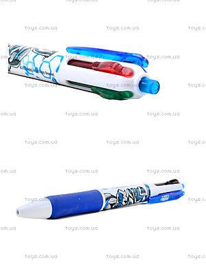 Ручка шариковая Max Steel 4 цвета, MX14-067K