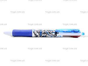 Ручка шариковая Max Steel 4 цвета, MX14-067K, отзывы