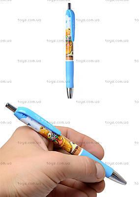 Ручка-автомат Popcorn Bear, синяя, PO14-039K