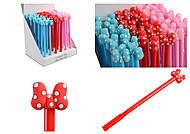 """Ручка шариковая """"Бантики в горошек"""" (упаковка 36 штук), 138, отзывы"""