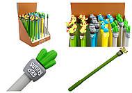 """Набор шариковых ручек """"Кактус в чашке"""", 4 цвета (36 штук в упаковке), 1296-7, фото"""
