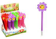 """Набор шариковых ручек """"Цветок-смайлик"""", 4 цвета (12 штук в упаковке), 320-SM, купить игрушку"""