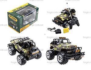 Радиоуправляемый джип Hummer, военный, 136-2