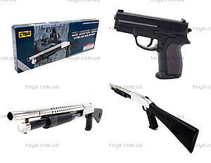 Игровой набор «Ружье с пистолетом», на пульках, P.799
