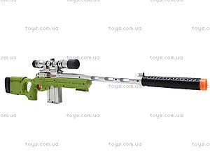 Ружье с музыкально-световым прицелом, LX3688, купить
