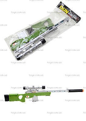 Ружье с музыкально-световым прицелом, LX3688