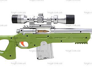 Ружье с музыкально-световым прицелом, LX3688, отзывы