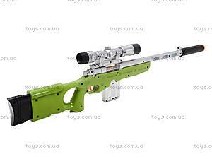 Ружье с музыкально-световым прицелом, LX3688, цена