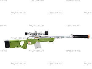 Ружье с музыкально-световым прицелом, LX3688, игрушки