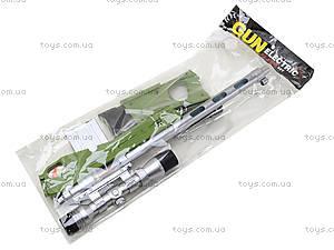 Ружье с музыкально-световым прицелом, LX3688, детские игрушки