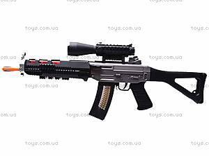 Ружье музыкальное «Боевое оружие» для детей, 6688-1