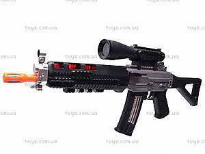 Ружье музыкальное «Боевое оружие» для детей, 6688-1, фото