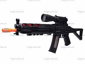 Ружье музыкальное «Боевое оружие»  с фонариком, 6688-4