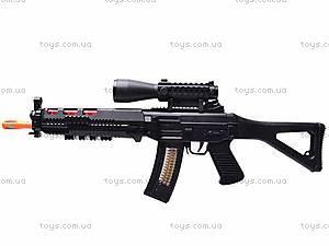 Ружье музыкальное «Боевое оружие»  с фонариком, 6688-4, отзывы