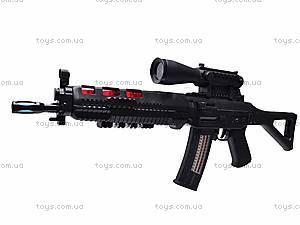 Ружье музыкальное «Боевое оружие» с фонариком, 6688-2