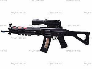 Ружье музыкальное «Боевое оружие» с фонариком, 6688-2, купить