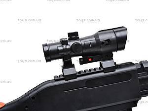 Ружье  под пульки с фонарем, 2066A, игрушки