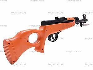 Ружье с комплектом пулек, 2030, детские игрушки