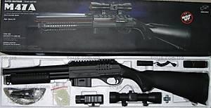 Ружье, с прицелом и лазером, M47A2