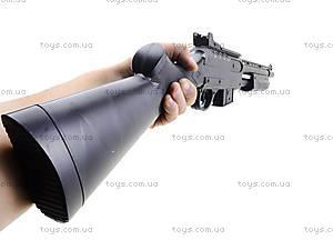 Игрушечное детское ружьё с пульками, 710?, фото