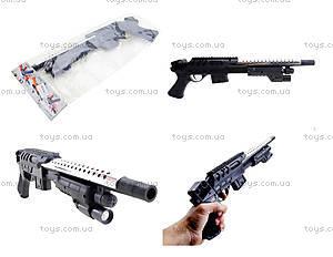 Игрушечное ружьё на пульках, с прицелом, TS61