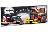 Ружьё и пистолет EDISON Multitarget набор с мишенями и пульками, ED-0629220, Украина