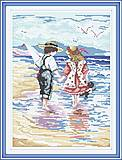 Рука в руке, картина для вышивки крестиком, R053, отзывы
