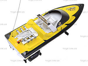 Радиоуправляемый катер с подставкой, 26A-131415, фото