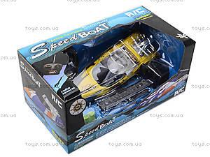 Радиоуправляемый катер с подставкой, 26A-131415, детские игрушки