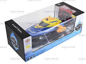 Радиоуправляемый катер на аккумуляторах, MX-0010-12, toys.com.ua