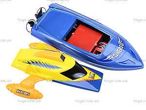 Радиоуправляемый катер на аккумуляторах, MX-0010-12, toys