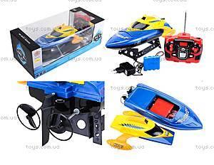 Радиоуправляемый катер на аккумуляторах, MX-0010-12, іграшки