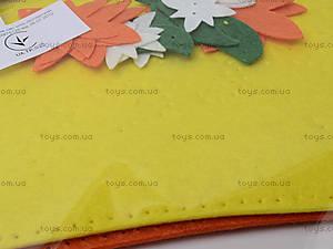 Набор для пошива прихватки «Солнечная варежка», 31370, фото