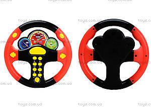 Черно-красный детский руль серии «Веселые гонки», 0582A-11