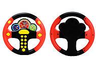 Черно-красный детский руль серии «Веселые гонки», 0582A-11, фото