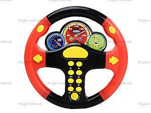 Черно-красный детский руль серии «Веселые гонки», 0582A-11, цена