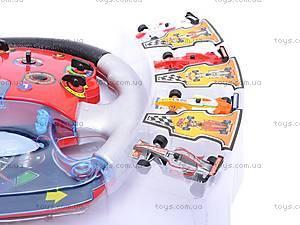 Руль «Формула 1» с набором машинок, 3702, купить